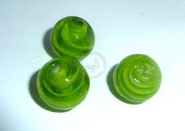 Széltánc  lámpagyöngy - zöld, 12mm