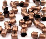 Bronz színű gyöngykupak nagy