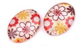 Üveg kaboson - virág