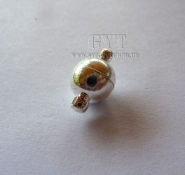 Ezüst színű mágnes gömbkapocs