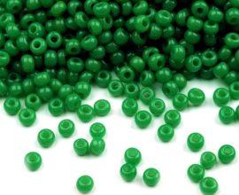 Zöld cseh üveg kásagyöngy 10/0 - Preciosa - 10g
