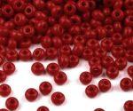 Piros cseh üveg kásagyöngy 10/0 - Preciosa - 10g