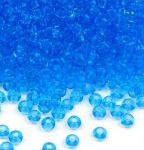 Világoskék színű üveg kásagyöngy 10/0 - Preciosa - 10g