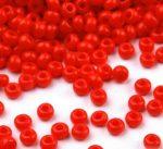 Piros cseh üveg kásagyöngy 11/0 - Preciosa - 10g