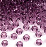 Ametiszt lila Preciosa kásagyöngy 6/0 - 4 mm