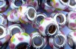 Üveg moduláris gyöngy - rózsa