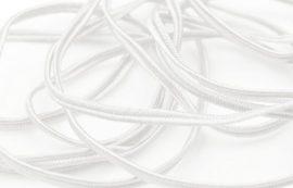 Fehér - Sújtás zsinór 3mm, 1m