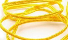 Sárga - Sújtás zsinór 3mm, 1m