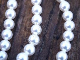 Fehér -  Swarovski Elements Pearl 4mm - 9658
