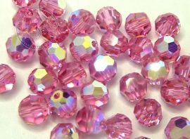 Rózsa AB -  Swarovski Elements round beads 4mm - 9304