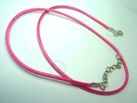 Pink wax zsinór kész nyaklánc