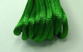 Zöld - szatén zsinór 2mm vastag, 1m darab