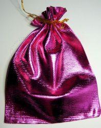 Ajándék zacskó - Pink csillogó