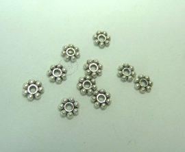 Kis virág gyöngy köztes - 10db