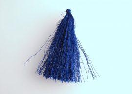 Kék - hosszú bojt 90mm