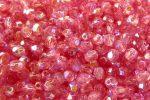 Tejes Pink AB - Cseh csiszolt 4mm