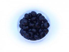 Preciosa Candy kétlyukú gyöngy 8mm - fekete