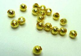 Arany  színű gyöngy  3,2mm