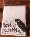 Beadsmith gyöngyhímző kézimunka alap 10,8x14cm - Fehér 1db/csomag