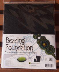Beadsmith gyöngyhímző kézimunka alap 21,5x28cm - 2db fekete 2db fehér/csomag