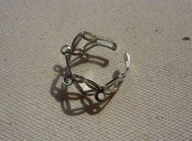Gyűrű alap - 3 soros, korona