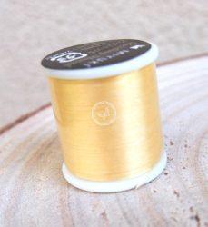 Miyuki minőségi gyöngyfűző cérna - sárga