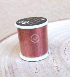 Miyuki minőségi gyöngyfűző cérna - copper, bronz
