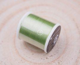 Miyuki minőségi gyöngyfűző cérna - világos zöld
