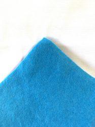 Gyöngyfűző kézimunka alap 20x30cm - Kék