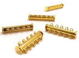 Arany színű mágneses sorkapocs