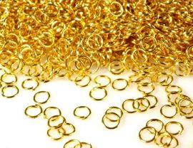Arany színű karika 5mm