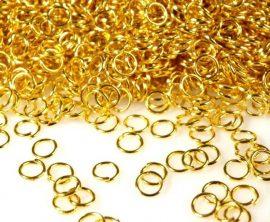 Arany színű karika 6mm