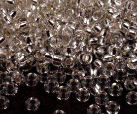 Kristály  cseh üveg kásagyöngy 10/0 - Preciosa - 10g