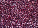 Fényes bordós lila cseh üveg kásagyöngy 10/0 - Preciosa - 10g