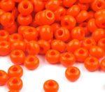 Narancssárga Preciosa kásagyöngy 6/0 - 4 mm
