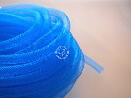 Lószőr üreges szalag 1m - kék