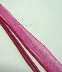 Pink organza szalag
