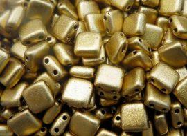 Matt metál azték arany - CzechMates Tile 6mm