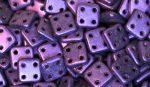 Matt lila - négylyukú négyzet