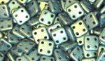 Metál light olajzöld  - négylyukú négyzet