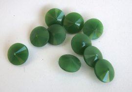 12mm MATUBO rivoli - Chrysopras - zöld