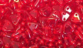 Siam ruby piros - háromszög