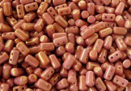 Lüszteres pink metál - Cseh Rulla 3x5mm