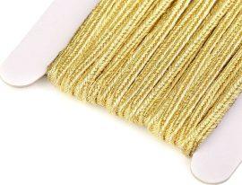 Arany - Sújtás zsinór 3mm, 1m