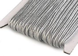 Ezüst - Sújtás zsinór 3mm, 1m