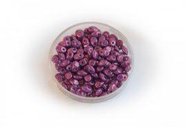 Lüszteres lila- Cseh SuperUuo 2,5x5mm