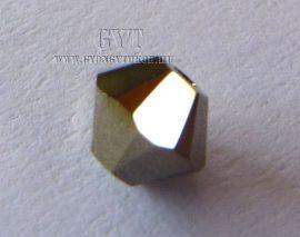 Crystal Metgold 2X- Swarovski Elements Bicone 25db 4mm