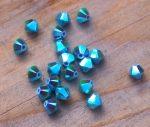 Turkiz AB2x - Swarovski Elements Bicone 4mm