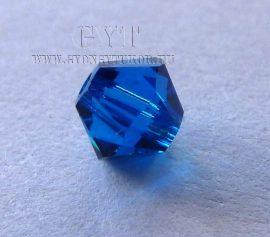 Capri kék - Swarovski Elements Bicone 4mm - 9742