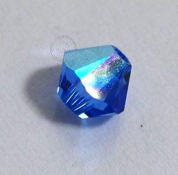 Zafír kék AB - Swarovski Elements Bicone 4mm